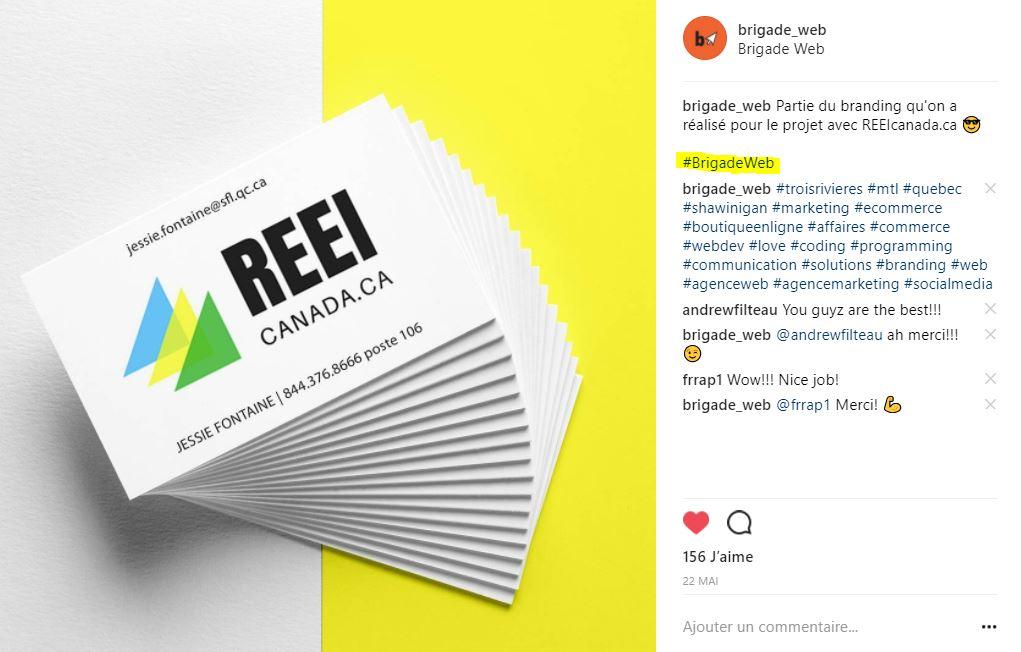 brigade web - comment utiliser les hashtags sur instagram1