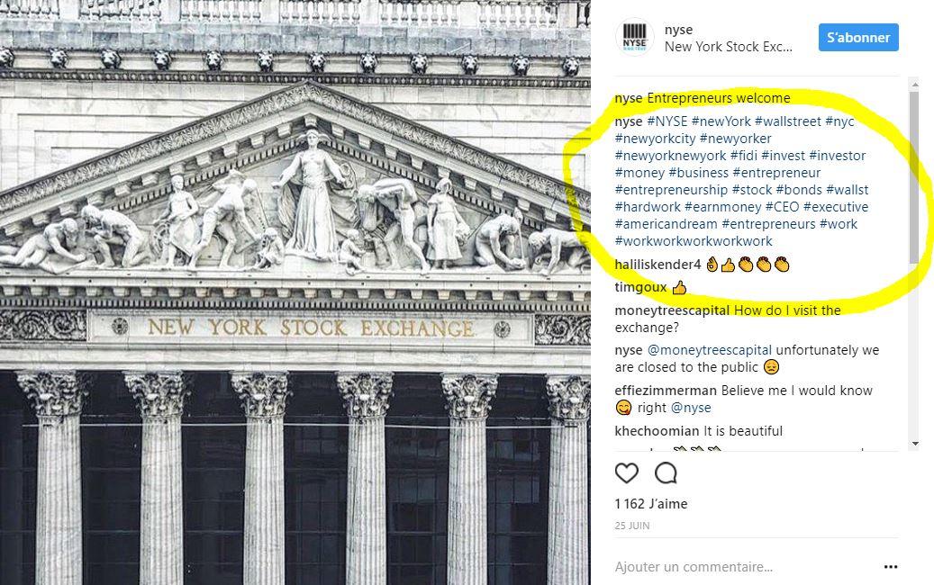 comment utiliser les hashtags sur instagram - brigade web 1